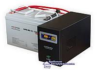 ДБЖ LPY-B-PSW-800 + Акумулятор LP-120MGL = 8-14 год автономної роботи котла опалення!, фото 1