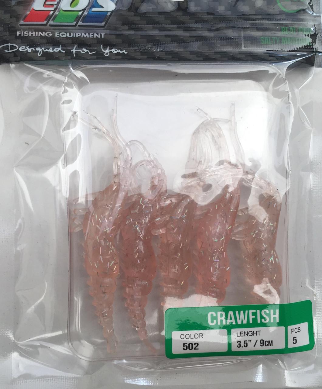 Силиконовые приманки EOS crawfish 9см