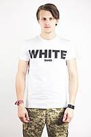 Футболка White Sand Напис White XS