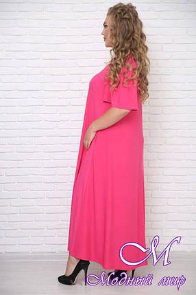 Яркое летнее платье для полных женщин (р. 42-90) арт. Форро, фото 2