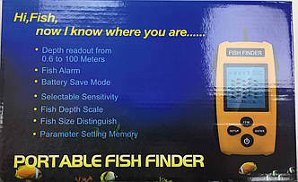 Эхолот Portable Fish Finder
