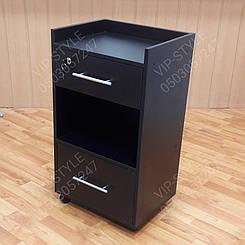 Тележка косметологическая с замком верхнем ящике