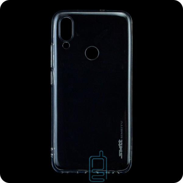 Чехол силиконовый SMTT Meizu Note 9 прозрачный