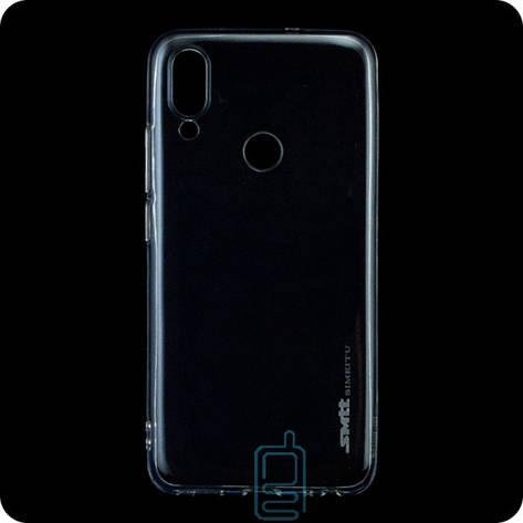 Чехол силиконовый SMTT Meizu Note 9 прозрачный, фото 2