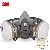 Респиратор 3М 6200 + Фильтры 6051