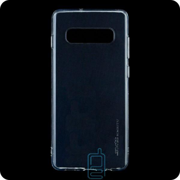 Чехол силиконовый SMTT Samsung S10 G973 прозрачный