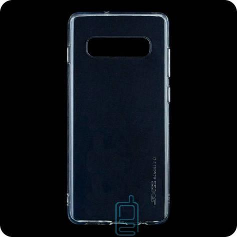Чехол силиконовый SMTT Samsung S10 G973 прозрачный, фото 2