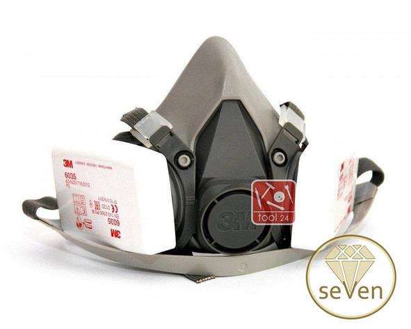 Респиратор 3М 6200+ Фильтр 6035 (Оригинал USA), фото 2