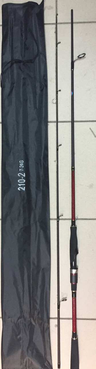 Спиннинг Cara Noble-2, 210 2-ч, тест: 7-24g.