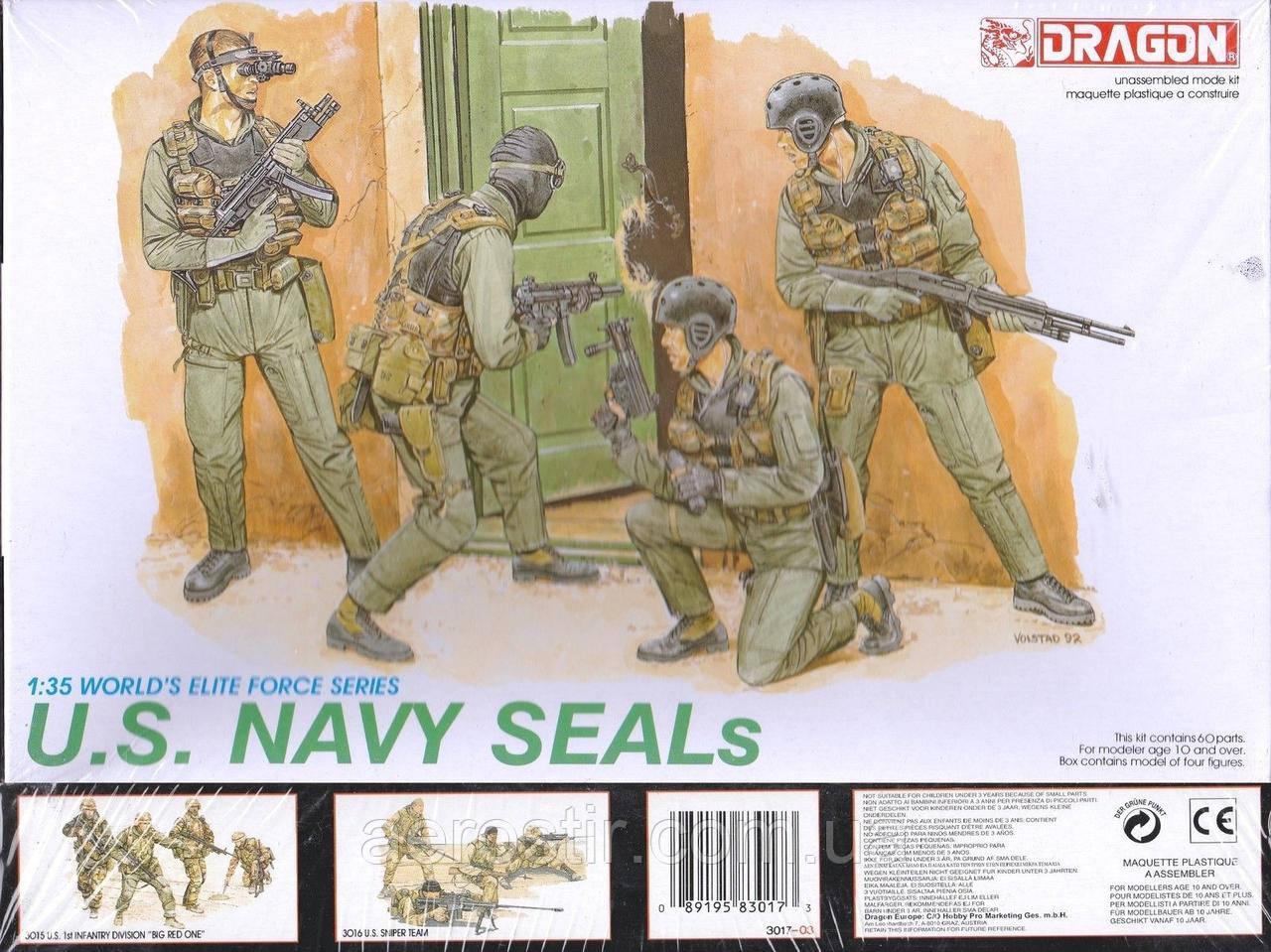 U.S. Navy Seals 1/35 Dragon 3017