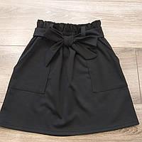 """Школьная юбка """"Джерси"""" для девочки, фото 1"""
