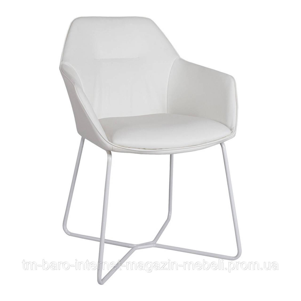 Кресло LAREDO (610*620*880) w белый, Nicolas