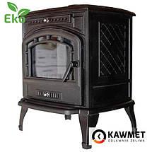 Печь камин чугунная KAWMET P7 (9.3 kW) EKO, фото 3