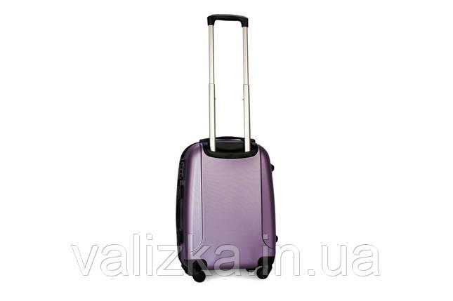 Малый пластиковый чемодан Fly 310 S+ для ручной клади фиолетовый, фото 2