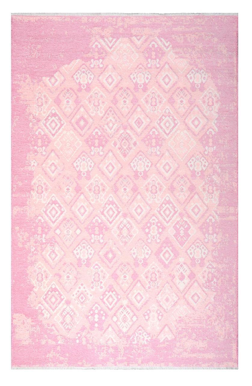 Ковер My Home Moretti Side двусторонний розовый