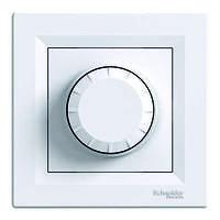 Светорегулятор 315ВА проходной Schneider Electric Asfora Белый