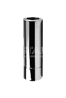 Дымоход 150/220 нерж/цынк 0.8мм 1м