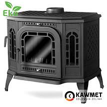 Печь камин чугунная KAWMET P7 (10.5 kW) LB EKO дверцы с левой стороны, фото 3