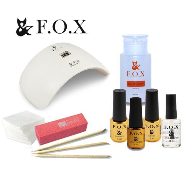 Стартовые наборы для ногтей f.o.x