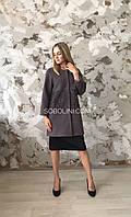 Пальто женское из шерсти и кашемира  46 размера, фото 1