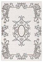 Ковер My Home Moretti Side двусторонний белый с коричневым, фото 1