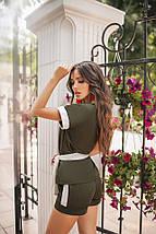 Модный костюм с шортами женский, фото 2