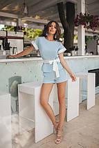 Модный костюм с шортами женский, фото 3