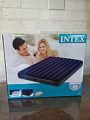 Intex Велюровый матрац  152х203х22см, в коробке