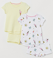 Комплект пижамок 2 шт. H&M.