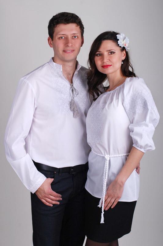 Украинские вышиванки для пары М01-111 и Ж10-111, фото 1