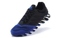 Кроссовки мужские  Adidas Springblade 2015 black-blue, фото 1