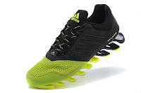Кроссовки мужские  Adidas Springblade 2015 black-green, фото 1