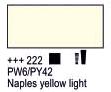 Краска акриловая AMSTERDAM, 20мл (222) Неополитанский желтый светлый, Royal Talens,  17042220,  8712079347635