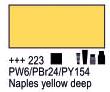 Краска акриловая AMSTERDAM, 20мл (223) Неополитанский желтый темный, Royal Talens,  17042230,  8712079342760