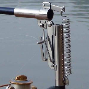 Спиннинг самоподсекающий Automatic Rod телескоп 2.4m с металлическим механизмом