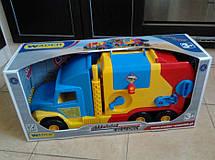 Машинка Мусоровоз Super Truck Wader 36580, фото 2