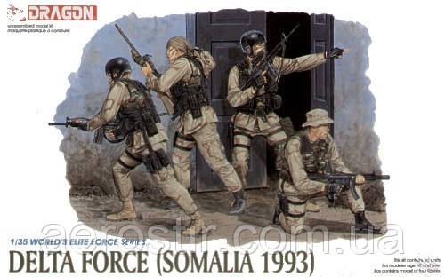 US Delta Force (Somalia 1993).1/35 Dragon 3022