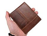 Чоловічий гаманець портмоне Primo PJ002 - Brown, фото 7