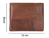 Мужской кошелек портмоне Primo PJ002 - Brown, фото 6