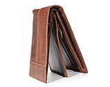 Чоловічий гаманець портмоне Primo PJ002 - Brown, фото 4