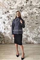 Коротке Пальто в довжині 65 см, розмір 44
