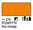 Краска акриловая AMSTERDAM, 20мл (276) AZO Оранжевый, Royal Talens,  17042760,  8712079347727