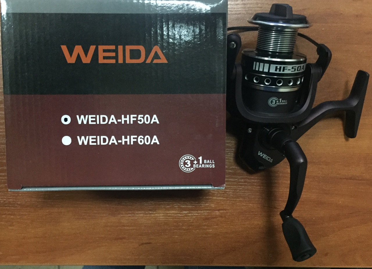 Катушка Weida HF-50 3+1bb