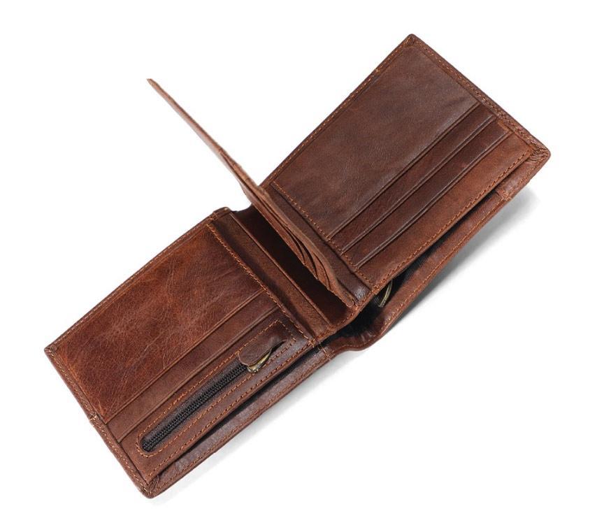 Чоловічий гаманець портмоне Primo PJ002 - Brown