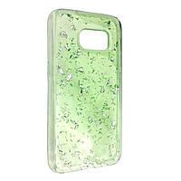 Чехол-накладка DK-Case Shalakur силикон для Samsung S7 (light green)