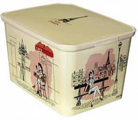 Ящик для игрушек Амстердам L Curver Париж