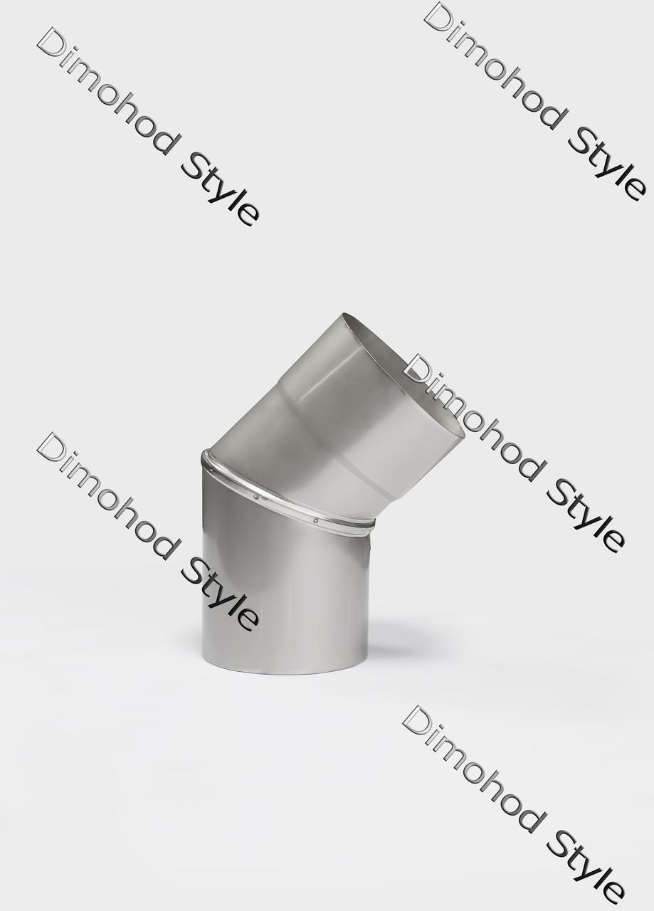 Колено 45° из нержавеющей стали