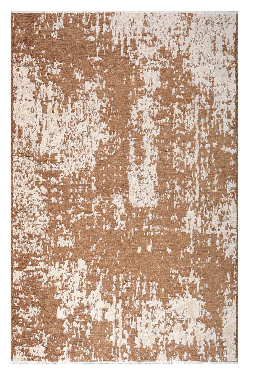 Ковер My Home Moretti Side двусторонний коричневый с бежевым