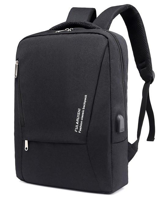 """Городской рюкзак для ноутбука 15.6"""" Digital Fred black"""