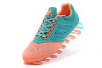 Женские кроссовки Adidas Springblade 2015 orange-blue